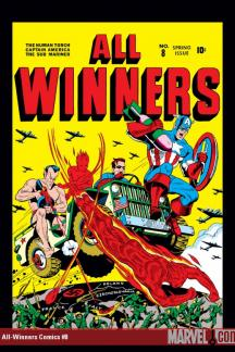 Marvel Masterworks: Golden Age All-Winners Vol. 2 (Hardcover)