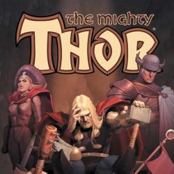 THOR VOL. I: DEATH OF ODIN TPB COVER