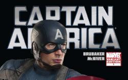 Captain America (2011) #1 Movie Variant