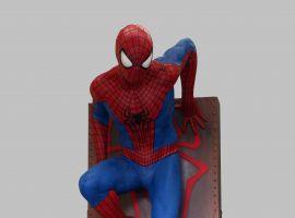 Life-Size Amazing Spider-Man 2 Statue