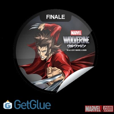 Wolverine GetGlue-exclusive digital sticker
