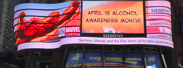 Marvel Helps Battle Underage Drinking