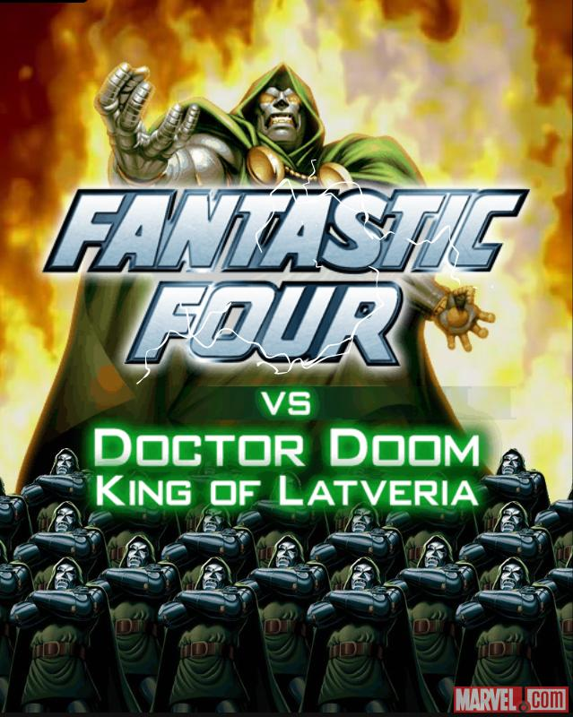 Track down Dr. Doom in Marvel War of Heroes