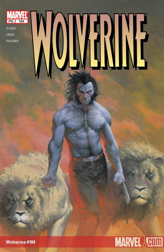Wolverine #184