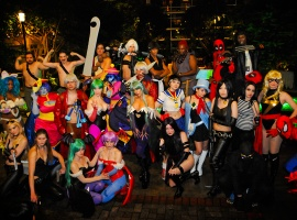 Katsucon 2011: Marvel VS Capcom 3 Cosplay Group