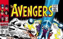 Avengers (1963) #39 cover
