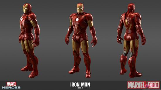 Iron Man Mark IV Armor (movie version) from Marvel Heroes