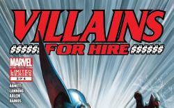 Villains For Hire (2011) #3