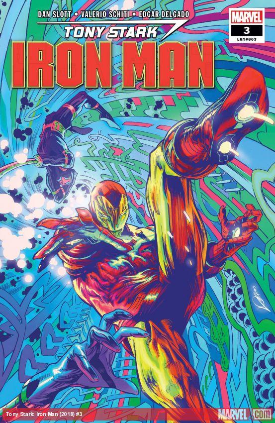 Tony Stark: Iron Man (2018) #3
