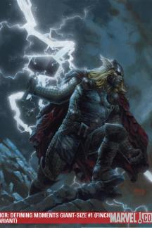 Thor: Defining Moments Giant-Size (2009) #1 (FINCH VARIANT)