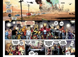 Fear Itself #1 preview page