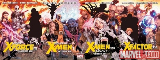 X-Men: Regenesis teaser by Nick Bradshaw