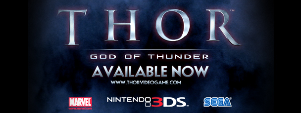 Thor: God of Thunder Available on Nintendo 3DS