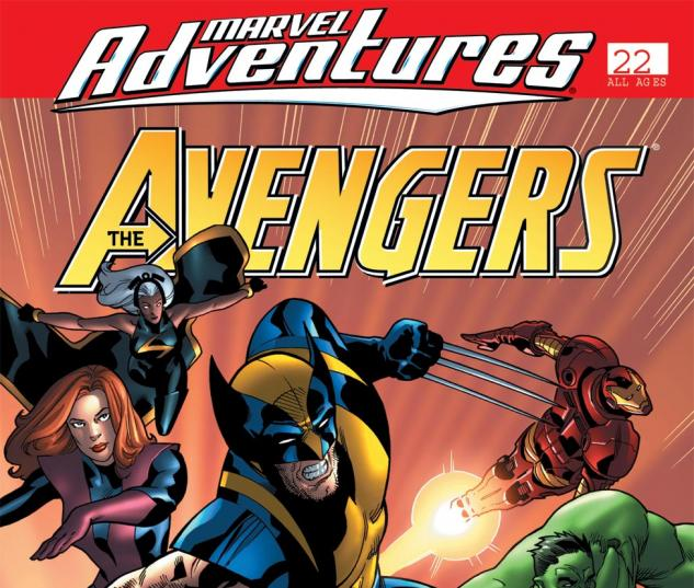 Marvel Adventures the Avengers (2006) #22