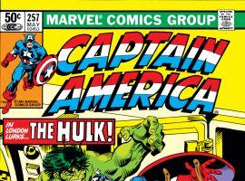 Captain America (1968) #257 Cover