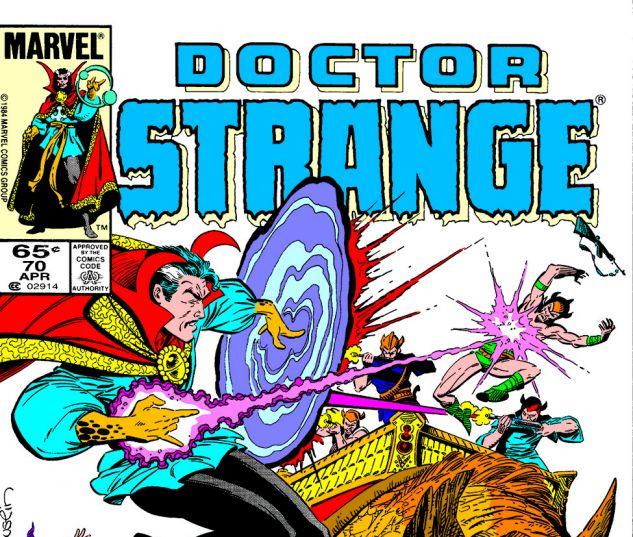 Dr. Strange (1974) #70