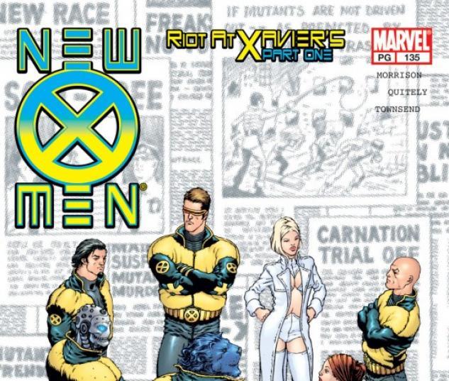 new x-men #135