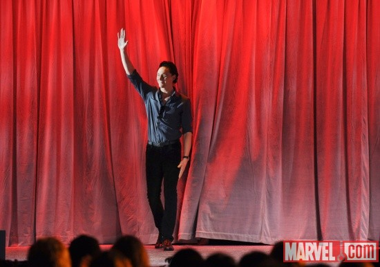 Tom Hiddleston at D23 2011
