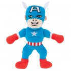 Captain America Plush Dog Toy with Squeaker by Fetch available at PetSmart