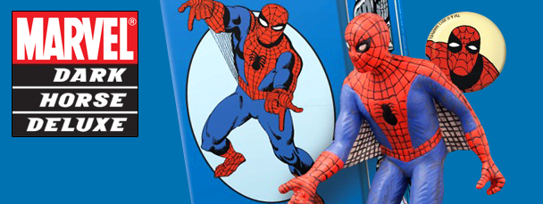 First Look: Dark Horse Deluxe Spider-Man Statue
