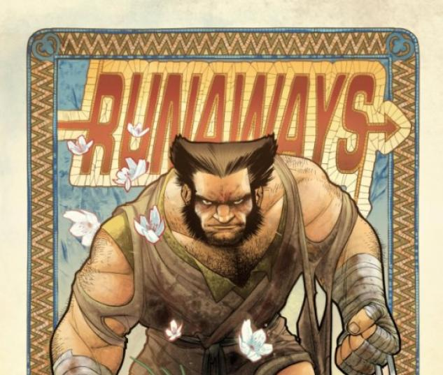 RUNAWAYS #9 (WOLVERINE ART APPRECIATION VARIANT)