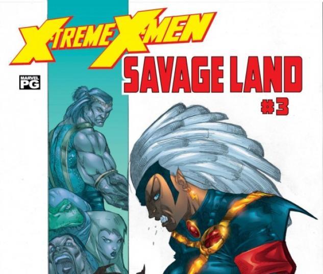 X-Treme X-Men: The Savage Land (2001) #3