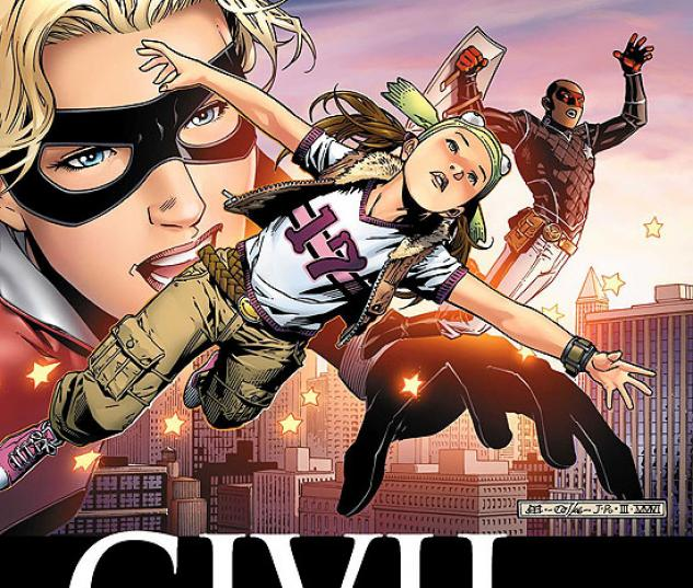 CIVIL WAR: YOUNG AVENGERS & RUNAWAYS (2007) #4 COVER