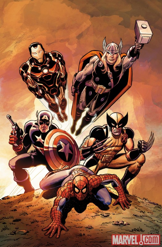 Image Featuring Thor, Wolverine, The Winter Soldier, Avengers