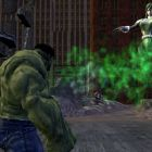 Hulk fights Vapor, of the U-Foes