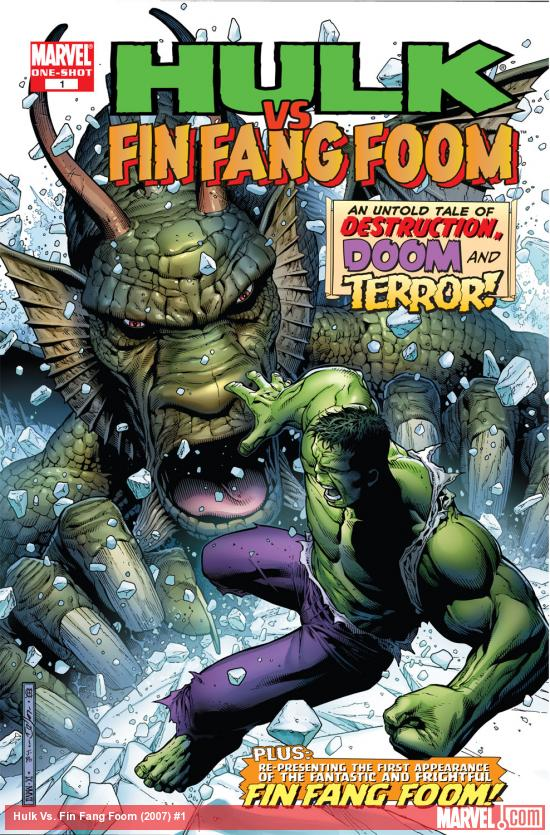 Hulk Vs. Fin Fang Foom (2007) #1