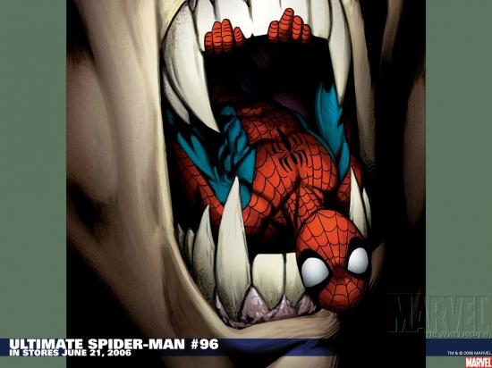 Ultimate Spider-Man (2000) #96 Wallpaper