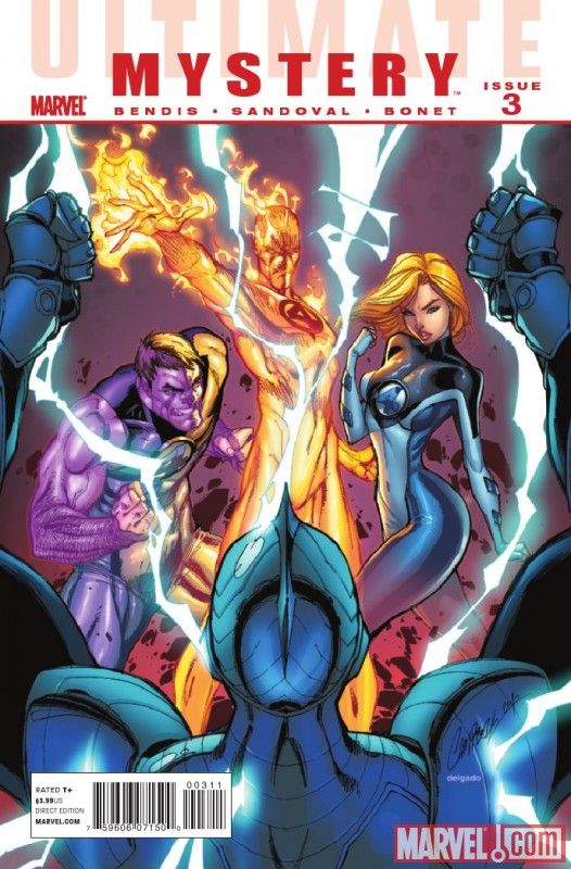 Image Featuring Invisible Woman (Ultimate), Thing (Ultimate)