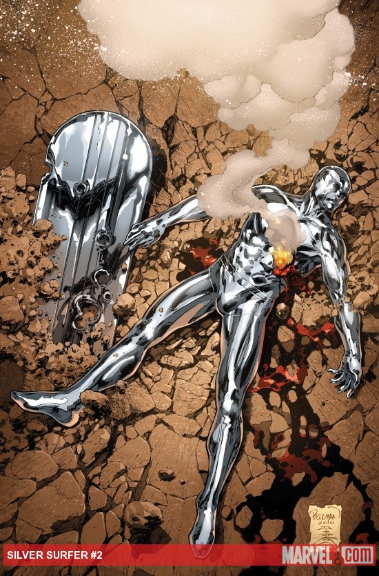 Silver Surfer Detail