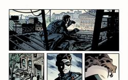 Captain America &amp; Bucky #624 preview art by Chris Samnee
