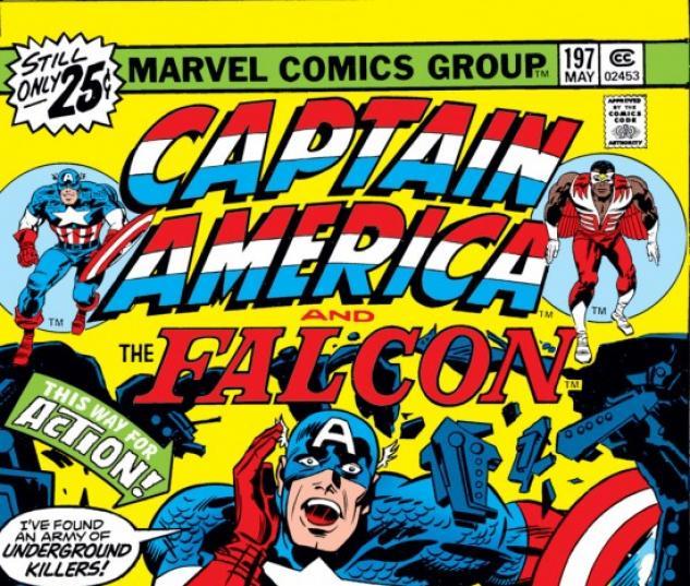 CAPTAIN AMERICA #197 COVER