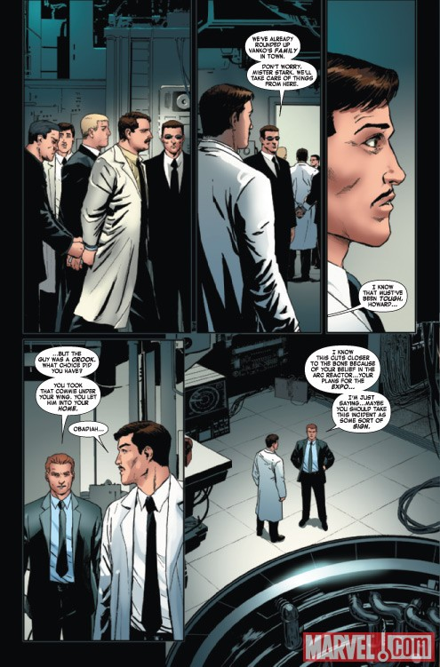 IRON MAN 2: PUBLIC IDENTITY #2 preview art by Barry Kitson