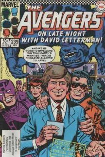 Avengers #239 cover