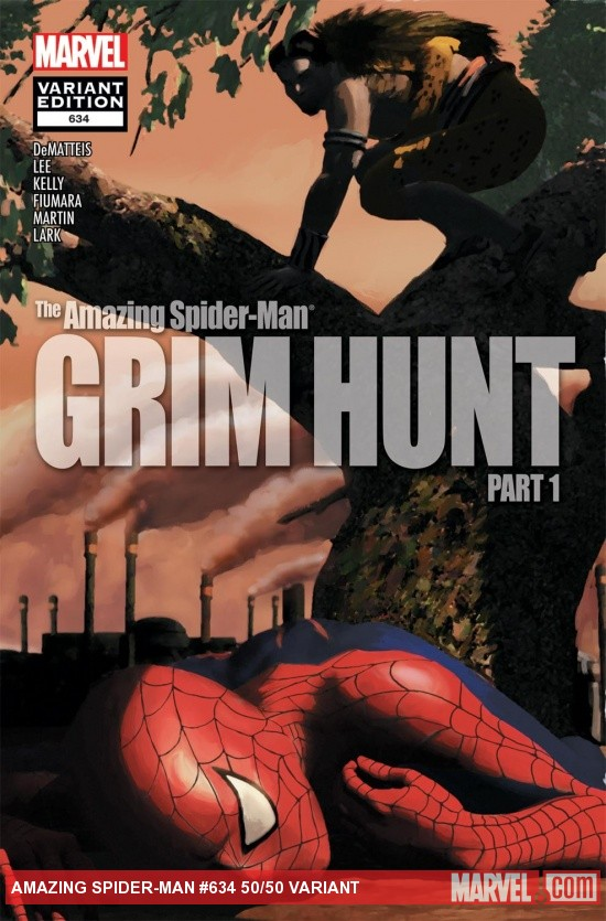 Amazing Spider-Man (1999) #634, 50/50 Variant