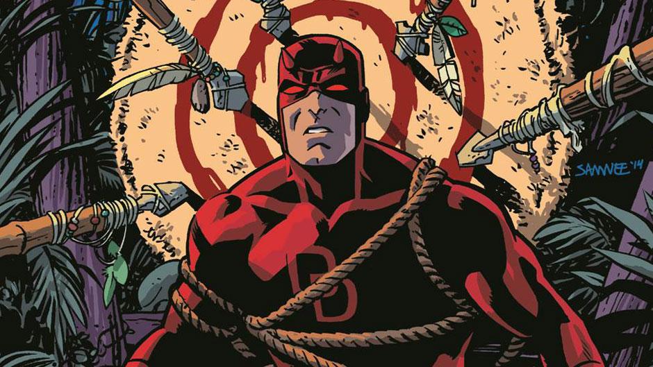 Daredevil art by Chris Samnee