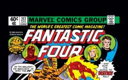 FANTASTIC FOUR #217