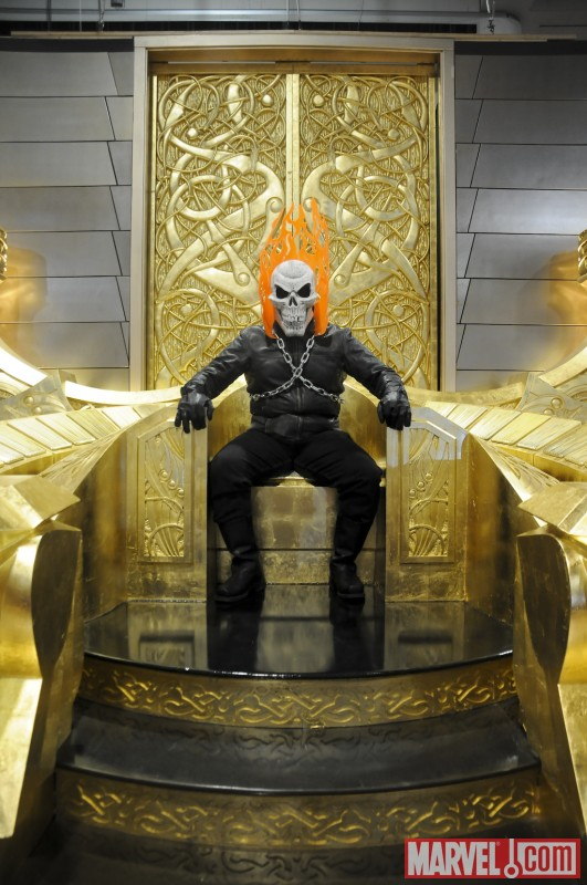 Marvel Cosplay Photo Op - Ghost Rider
