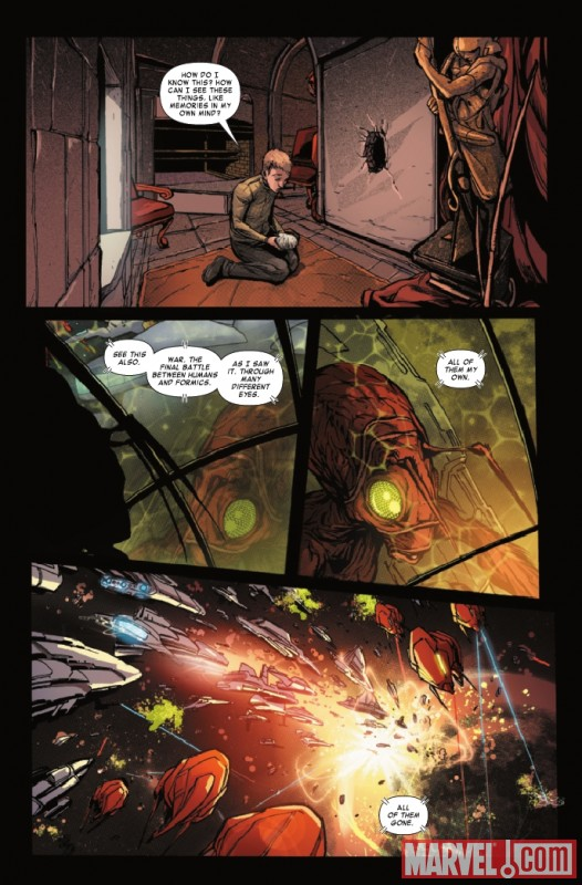 ORSON SCOTT CARD'S ENDER IN EXILE #5 preview page by Pop Mahn