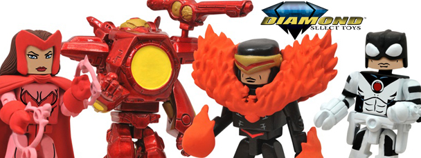 Diamond Select: Avengers Vs. X-Men Minimates