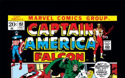 Captain America (1968) #151 Cover