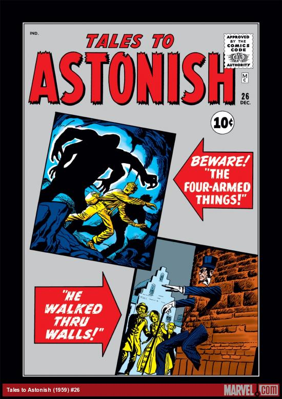 Tales to Astonish (1959) #26 Cover