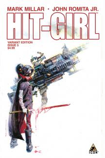 Hit-Girl (2012) #5 ((Sienkeiwicz Variant Edition))