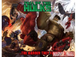 Image Featuring X-Men, Red Hulk, Avengers