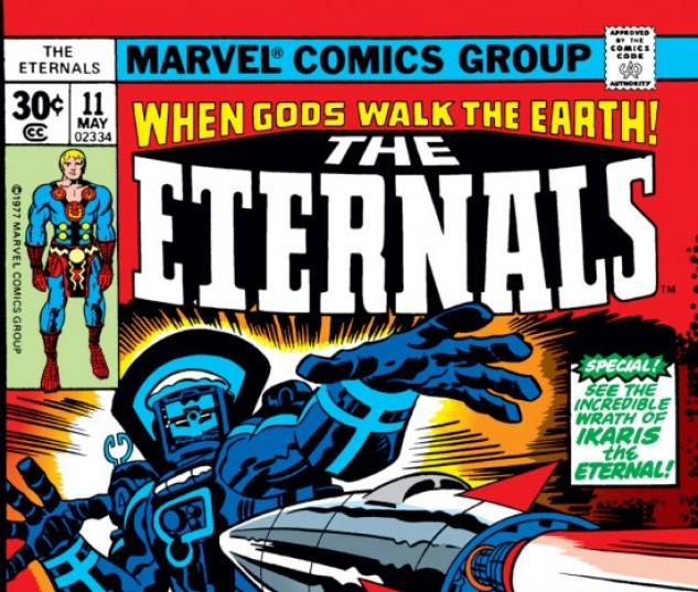 ETERNALS (2009) #11 COVER