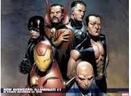 New Avengers: Illuminati (2006) #1 Wallpaper