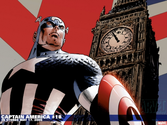 Captain America (2002) #18 Wallpaper